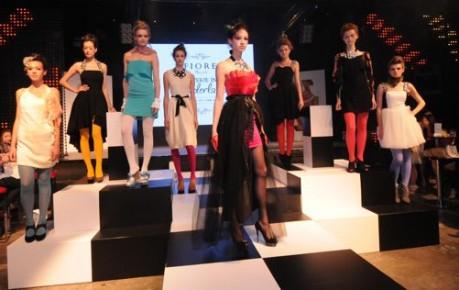 2010年にスタートしたブランド「Fiore」が2011年秋冬コレクションを発表した。
