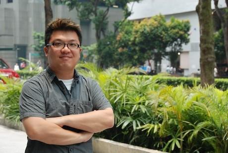 シンガポールブランチオフィスのマネージャーとして日本から赴任した台湾系アメリカ人のポール・シューさん