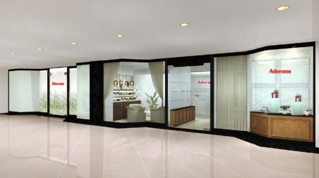 移転リニューアルしたアデランス・シンガポール・オーチャード店