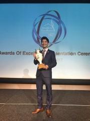 星でワールドグルメサミット受賞式 日本人ソムリエも受賞