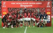 シンガポールで7人制ラグビー国際大会 世界の強豪16チームが45試合