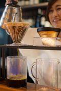 チャリティーイベントを主催した「TOMOR TOKYO Coffee」代表の小林恵梨子さん