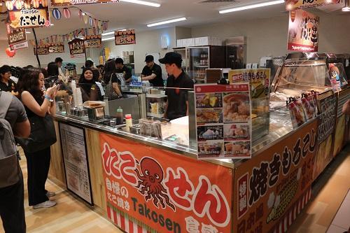 3階にある「ジャパンモバイルフーズ(日本携帯食物)」