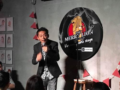 26日「ZENJIRO:KAMIKAZE Stand up comedy」と題したオール英語公演を行うぜんじろうさん