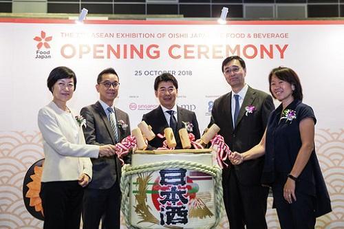 シンガポールで日本食品見本市「Food Japan 2018」 3日間で1万1212人 ...