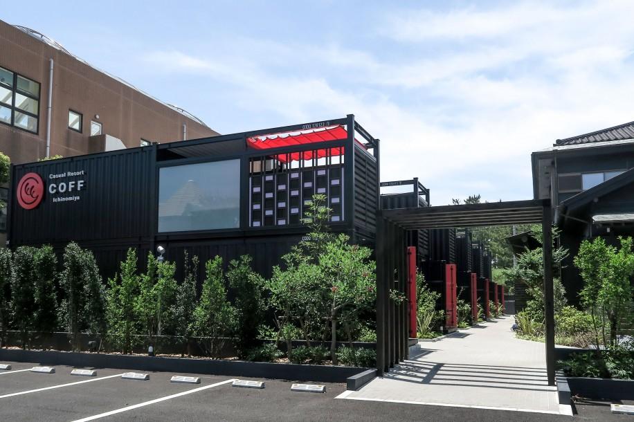 「Casual Resort COFF Ichinomiya(カジュアルリゾート コフ イチノミヤ)」の全景
