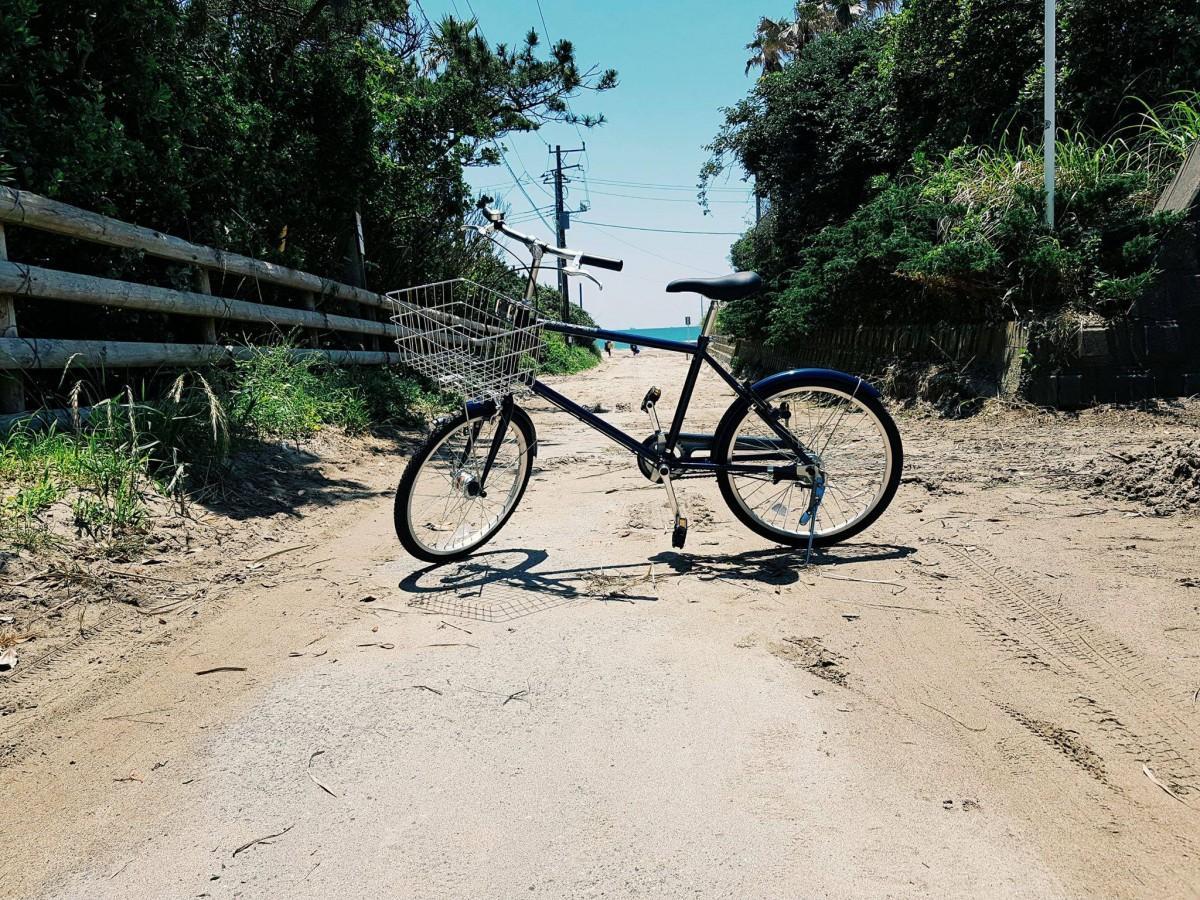 自転車ツアーで巡る御宿海岸入口