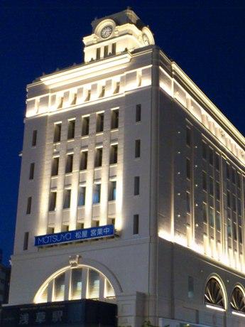 東武・浅草駅ビル、外観のリニューアル工事が完成-大時計も復活