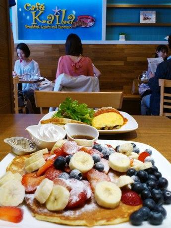 オーナーのカイラさんは、一日の活動に必要不可欠な朝食をとても大切に考えている。「ハワイの朝食文化を日本の皆さんにお届けしたい」とメッセージを寄せる。
