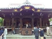 向島・牛嶋神社で子どもだけのガムラン隊-「すみだ川アートプロジェクト」で