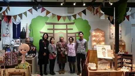 「すみだ川ものコト市 ソラマチ版」会場には牛嶋神社の境内を再現。出店者の詳細はサイトから確認できる。