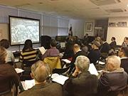 錦糸町で商工業者向け勉強会「錦糸町の今昔とすみだ北斎美術館」