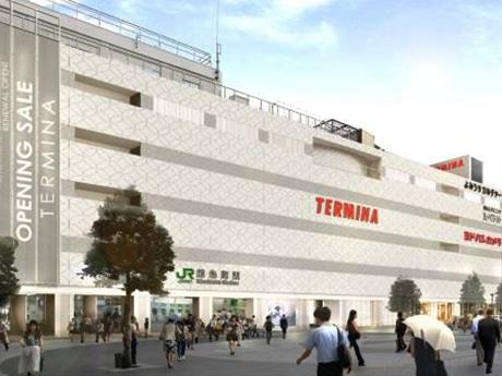 リニューアルされた錦糸町駅ビル「テルミナ」