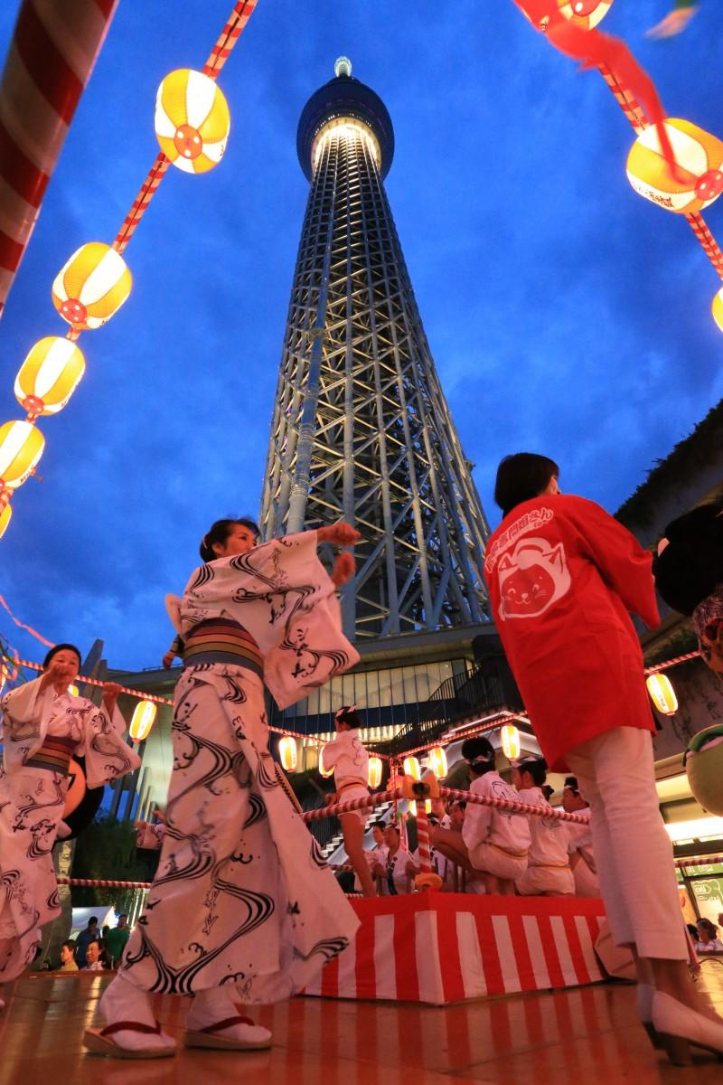 スカイツリーを見上げる場所で踊ろう ?TOKYO-SKYTREETOWN
