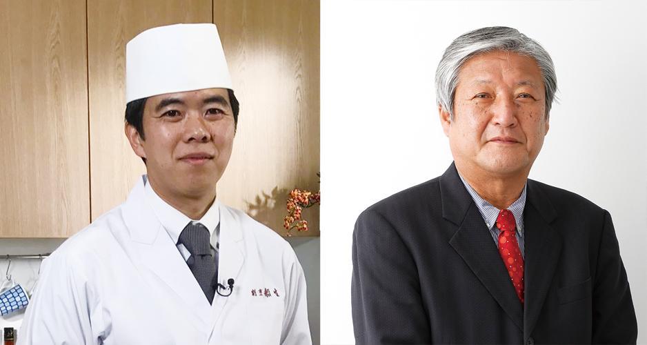 講師の船生宜之さん(左)と木本誠一さん(右)