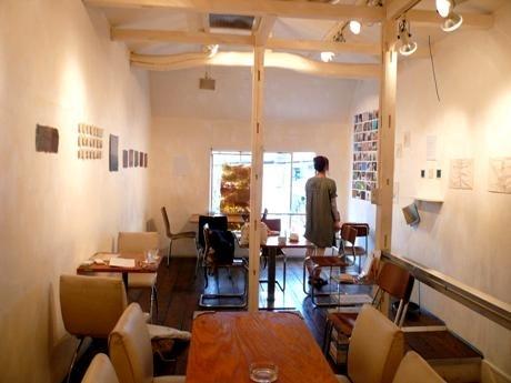 「エコ」がテーマの作品を展示した店内