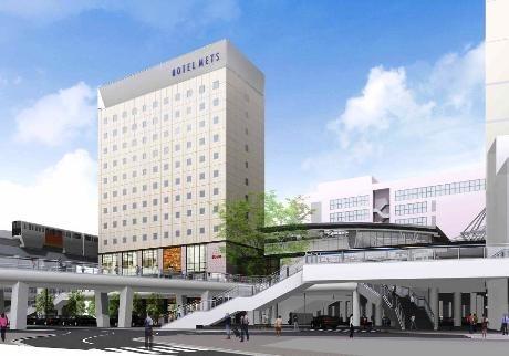 「ホテルメッツ立川」オープン時のイメージ画像
