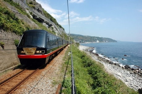 今回JR南武線に乗り入れる「リゾート21・黒船電車」