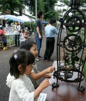 立川・米軍ハウスでアートイベント-住民らが作品展示、ライブも
