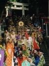 国立・谷保天満宮で「菅公千百十年式年大祭」-平安時代装束で行列も