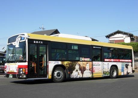「聖☆おにいさん」ラッピングバス