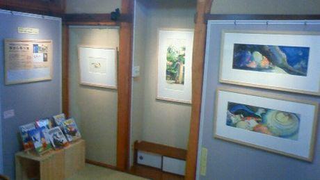 国立のギャラリービブリオで開かれる「降矢奈々絵本原画展」