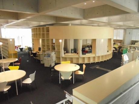 図書館内部の様子