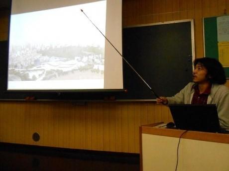 妹島事務所の松沢一応さんを始め、関係者が講師を務める