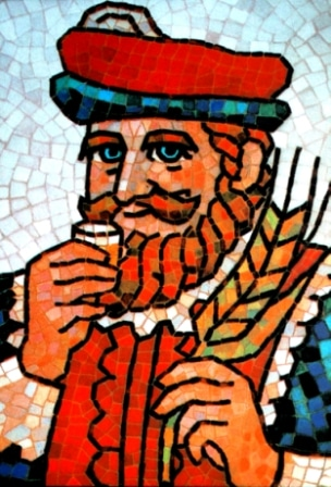 髭の「キング・オブ・ブレンダーズ」の原画