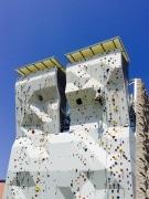 昭島に「モリパークアウトドアヴィレッジ」開業-大型クライミングウオールも