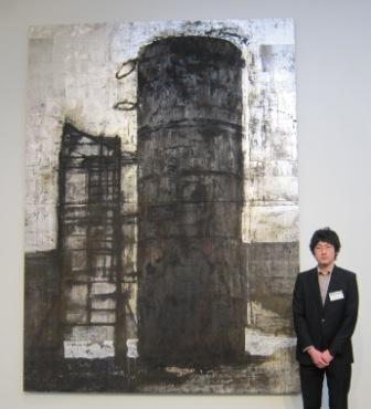松岡学さんとVOCA佳作賞受賞作「光の塔」