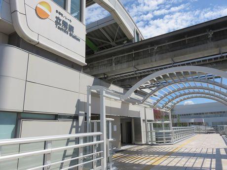 南口改札と連絡ブリッジが接続し、「ららぽーと立川立飛」へのアクセスが便利に