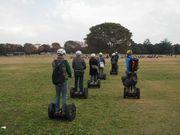 昭和記念公園でセグウェイガイドツアー 20センチ高い目線で園内散策