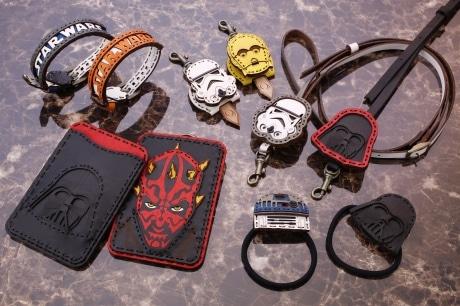 革でどこまで細かくキャラクターを表現できるかにこだわったという &copy& TM Lucasfilm Ltd