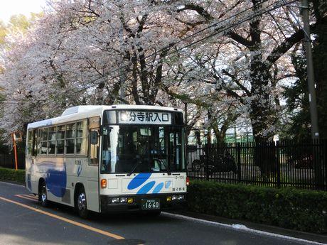 銀河鉄道が運行する路線バス