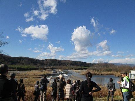 昭島市で水つながりモニタリングツアー 多摩川地下トンネルの見学など