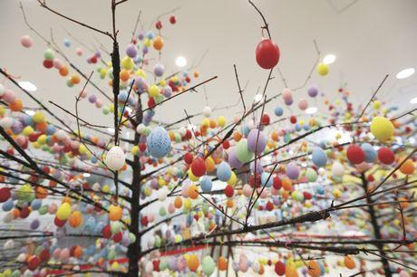 「Happy Easter(ハッピーイースター)」イースターツリー