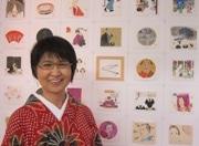 国分寺の日本画家・北村さゆりさんが宮部みゆきさん著「三鬼」の挿画展