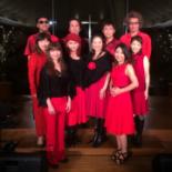 昭島のフォレスト・イン昭和館でクリスマスコンサート 夜のガーデンチャペルで