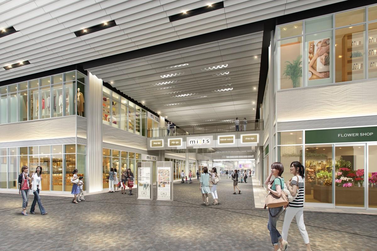 国分寺駅北口に新商業施設「ミーツ国分寺」 今年4月開業へ