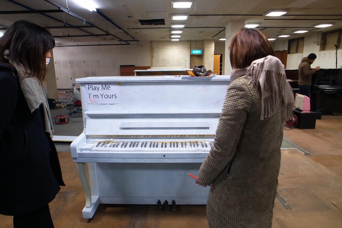 国立で廃棄寸前のピアノを装飾、市内10カ所に設置へ