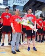 立川でアルバルク東京が報告会 リーグ初優勝で