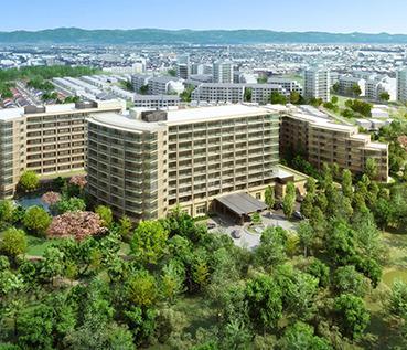 「サンシティ立川昭和記念公園」