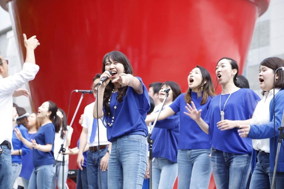 「都市型野外音楽フェス」として、立川の人気イベントになっている