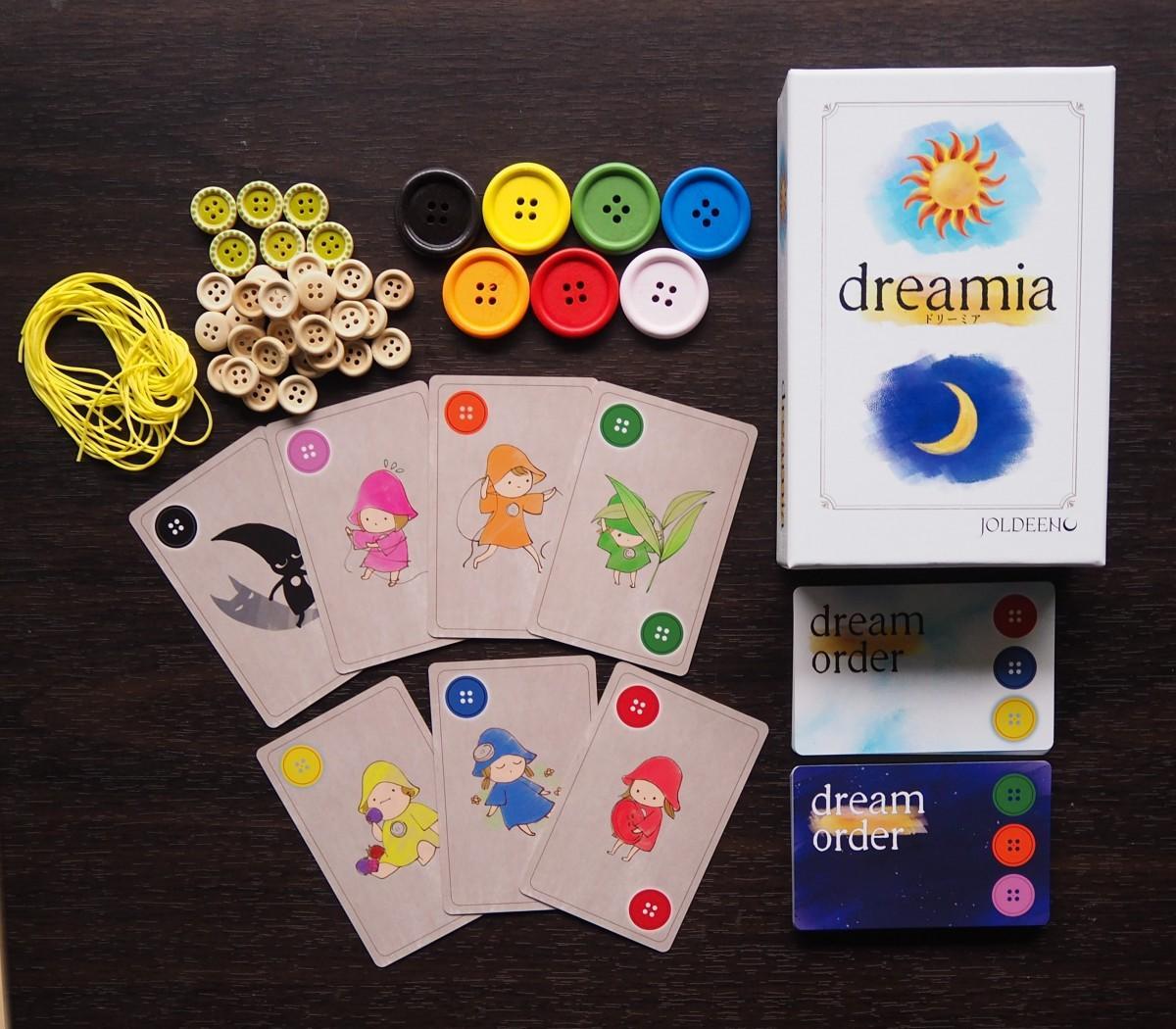 ボードゲーム「Dreamia(ドリーミア)」