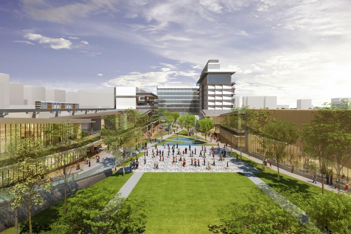 新街区「GREEN SPRINGS」イメージ