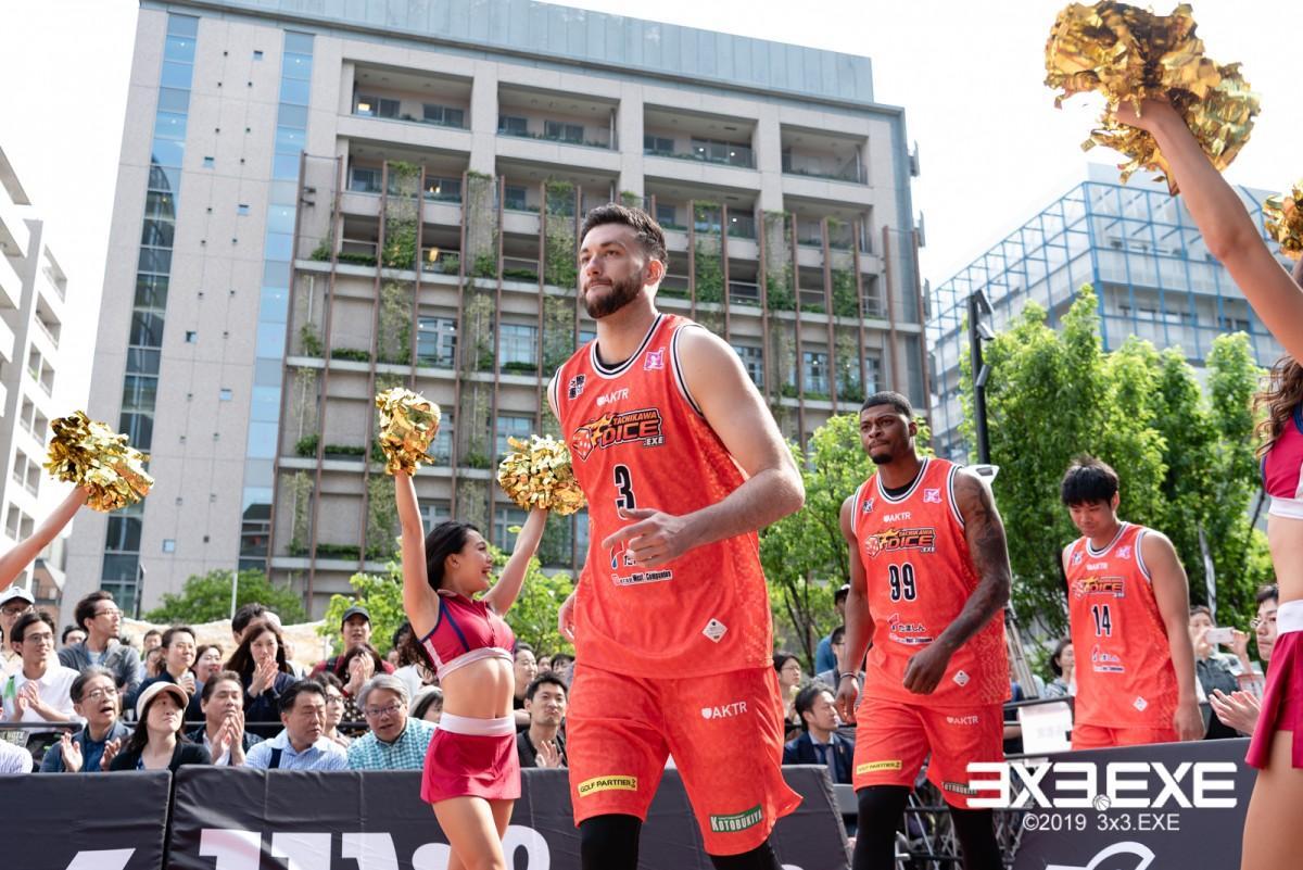 立川の3人制のプロバスケットボールチーム「TACHIKAWA DICE.EXE(立川ダイス)」