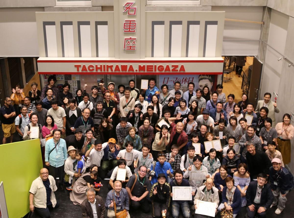 昨年の「立川名画座通り映画祭」の様子