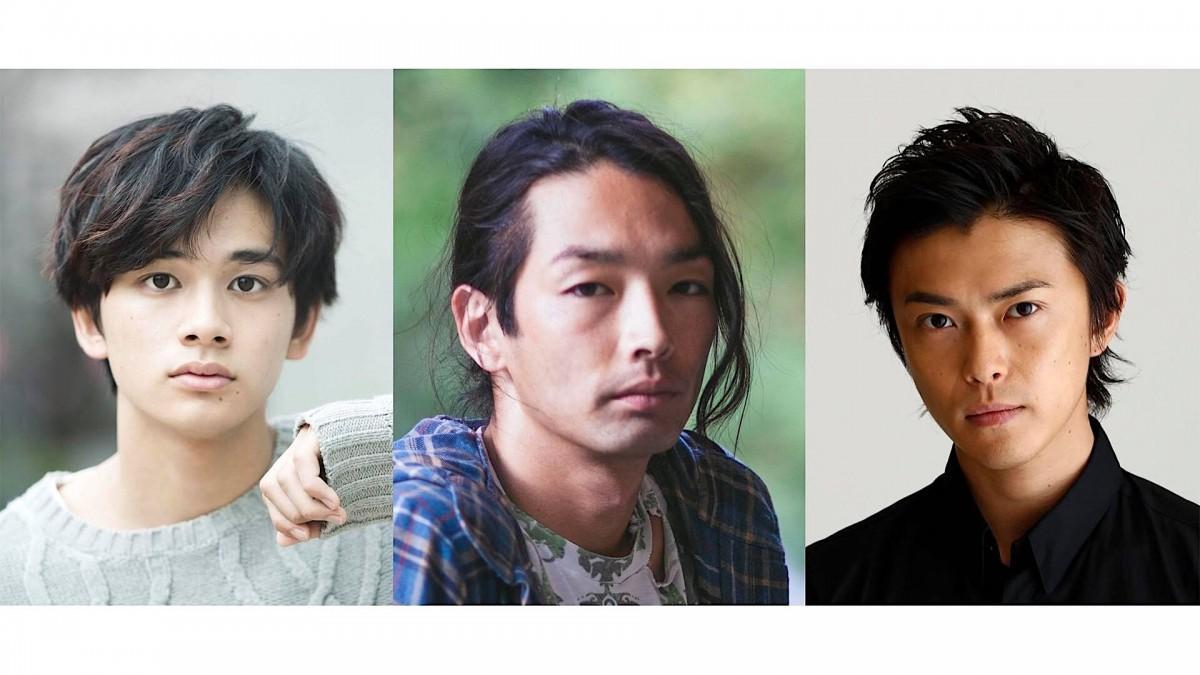 映画「アンダードッグ」でプロボクサーを演じる北村匠海さん、森山未來さん、勝地涼さん