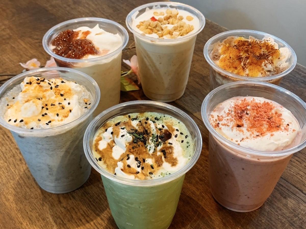 白砂糖や添加物不使用の自然な甘さが特色の「飲むチー」6種類のフレーバー